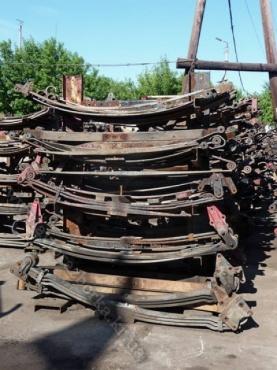 Пакет листов рессоры задней Mercedes-Benz 1514-1524 LK/LN2