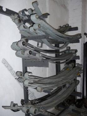 3й лист передней рессоры Mercedes-Benz 809-917 LK/LN2