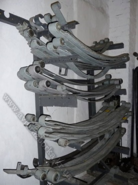 3й лист передней рессоры Mercedes-Benz 1114-1324 LK/LN2