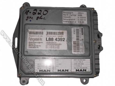 Блок управления двигателем D0836