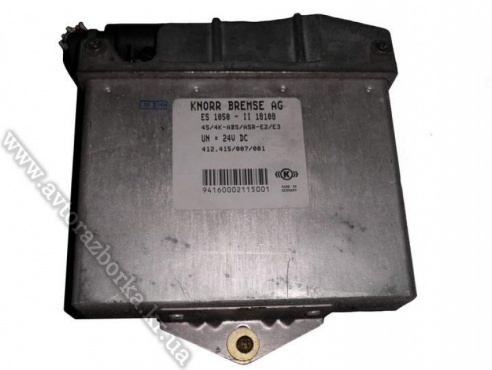 Блок управления ABS/ASR MAN F2000, F90