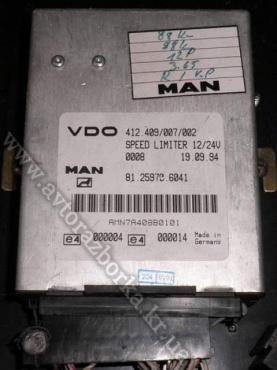 Электронный блок MAN Speed Limiter