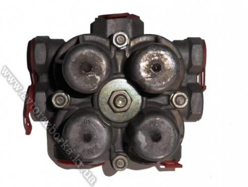 Четырехконтурный защитный клапан