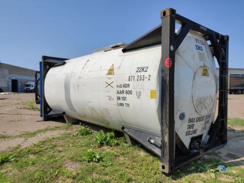 Танк-контейнер 20 футовый 25 м.куб. для наливных грузов с подогревом