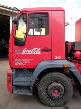Кабина MAN 14.163 Coca-Cola