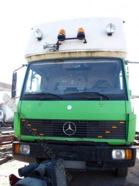 Кабина Mercedes-Benz 817 со спальником