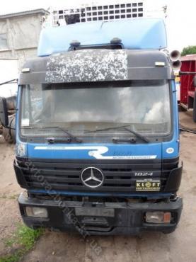 Кабина Mercedes Benz 1824 SK спальная