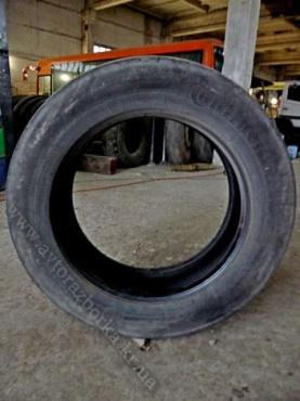 Резина грузовая б/у Continental 285/60 R22,5 рулевая (Германия)