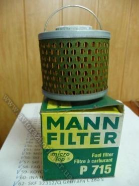 Фильтр топливный MANN P 715 microtop