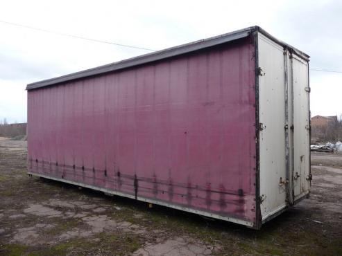 Кузов грузовой тентованный (тент-штора)