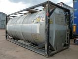 Танк-контейнер 20 футовый 22 м.куб. для наливных грузов с подогревом VanHool