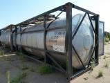 Танк-контейнер 20 футовый 23 м.куб. для наливных грузов с подогревом