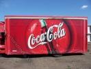 """Будка тентованная спецразвозчик """"Coca-Cola"""""""