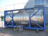 Танк-контейнер 20 футовый для наливных грузов с подогревом